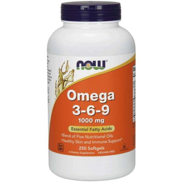 Omega 3-6-9 - 1000mg 250 softgels