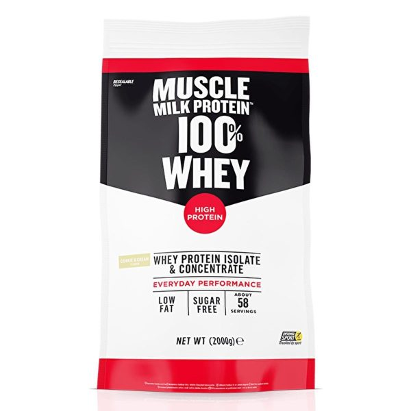 Muscle Milk Protein 100% Whey 2kg Cookies & Cream