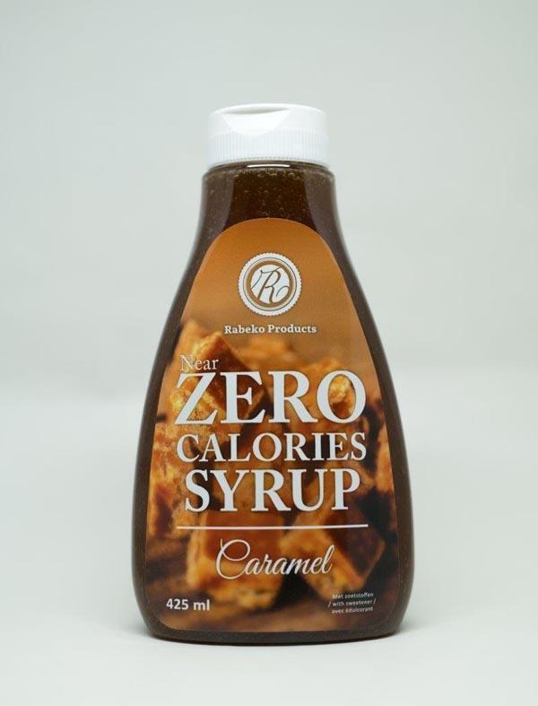 Zero Calories Syrup 425ml Caramel