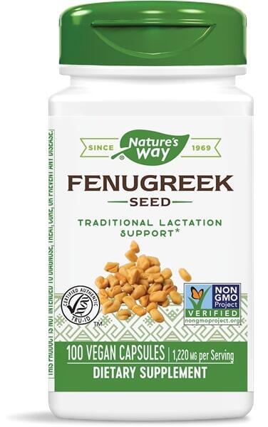 Fenugreek Seed 100 Vcaps