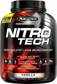 Nitro-Tech Performance Series  4lb Vanilla