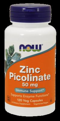 Zinc Picolinate 50 mg  120 Veg Capsules