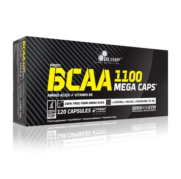 BCAA Mega Caps 1100® 120caps
