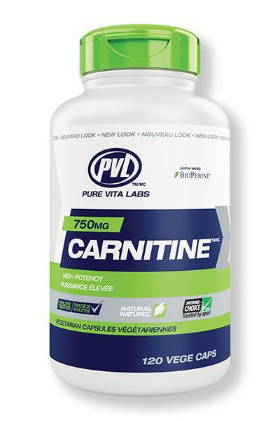 Carnitine 750 120 Vcaps