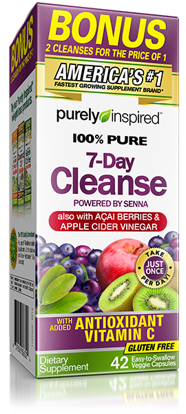 100% Pure 7 Day Cleanse 42 Vcaps