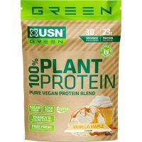 USN 100% Plant Protein 900 gram Vanilla Maple