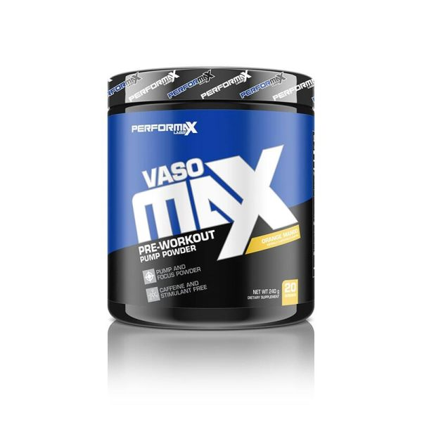 VasoMax Pre-Workout 20 servings Orange Mango Performax Labs