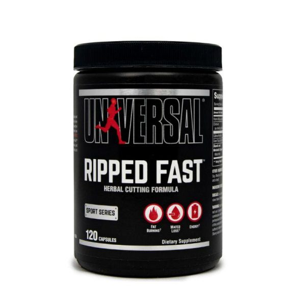 Ripped Fast, 120 caps