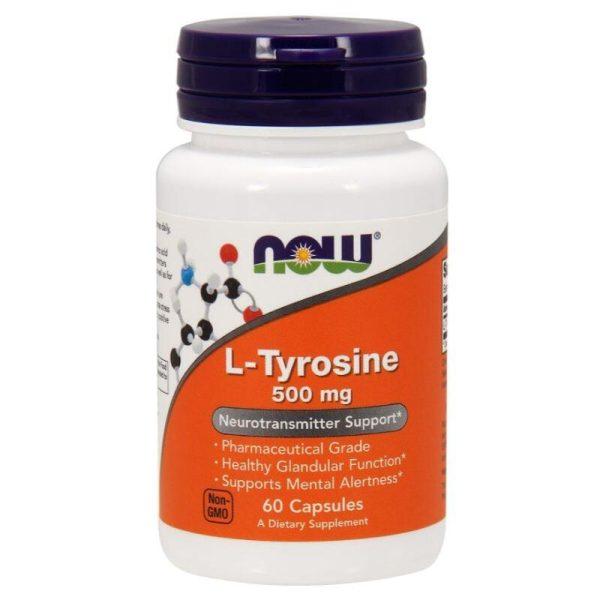 L-Tyrosine 500, 60 caps