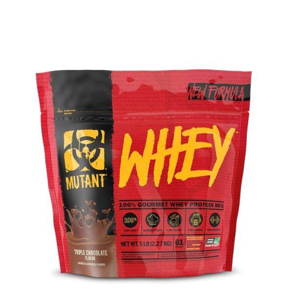 Mutant Whey, 2270 gram Tripple Chocolate