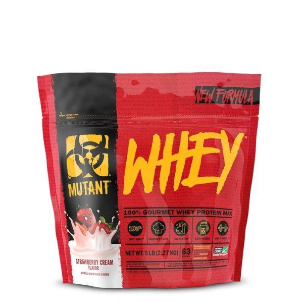 Mutant Whey, 2270 gram Strawberry