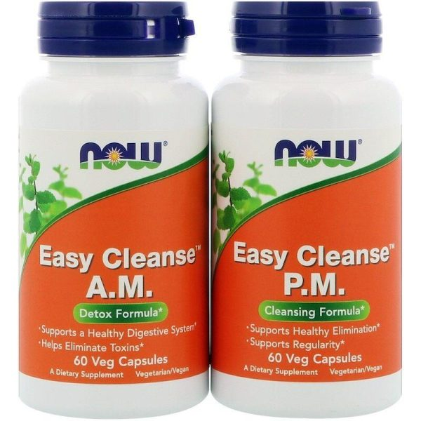 Now Easy Cleanse 2 Bottles