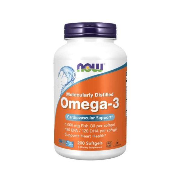 Omega-3-200, 200 softgels