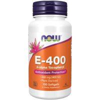 Vitamin E-400 D-Alpha Tocopheryl (100 softgels)