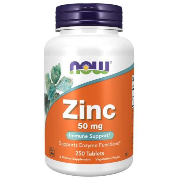Zinc 50 mg, 250 tabs