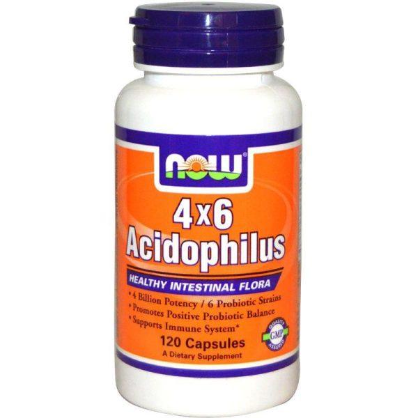 4X6 Acidophilus 120 caps