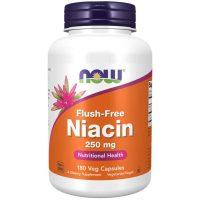 Niacin Flush-Free 250 mg, 180 Veg Capsules
