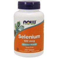Selenium 100 mcg, 250 tabs