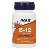 B-12 with Folic Acid1000 mcg, 100 chews