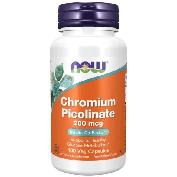 Chromium Picolinate 200mcg (100 Vcaps)
