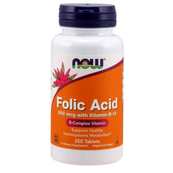 Folic Acid (foliumzuur), 250 tabs