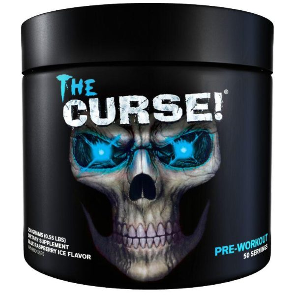The Curse, 50 servings Blue Ice Raspberry