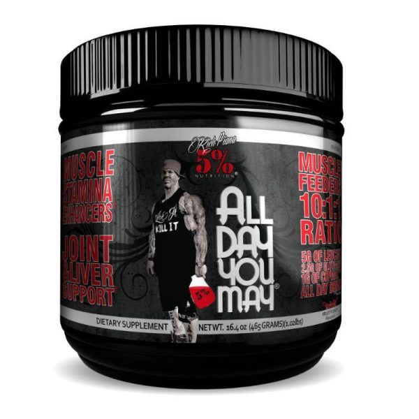 All Day You May 10:1:1 BCAA, 465 gram Fruit Punch