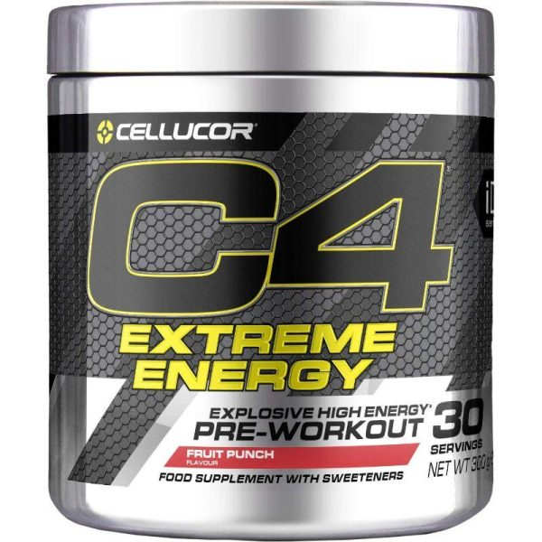 C4 Extreme Energy 30 servings Fruit Punch