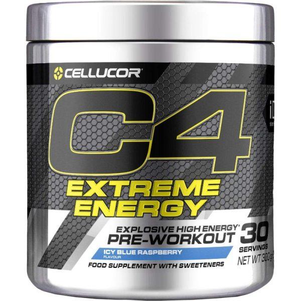 C4 Extreme Energy, 30 Icy Blue Raspberry