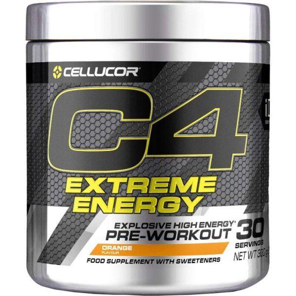 C4 Extreme Energy 30 servings Orange