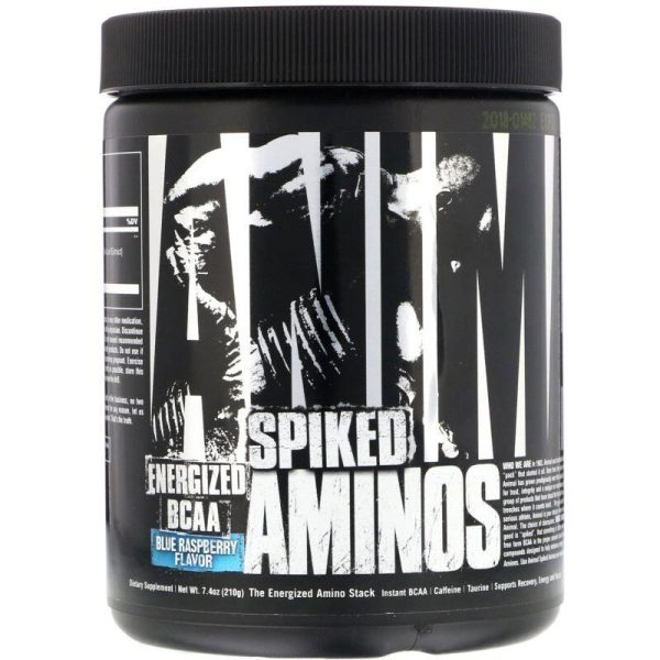 Animal Spiked Aminos, 30 servings Blue Raspberry