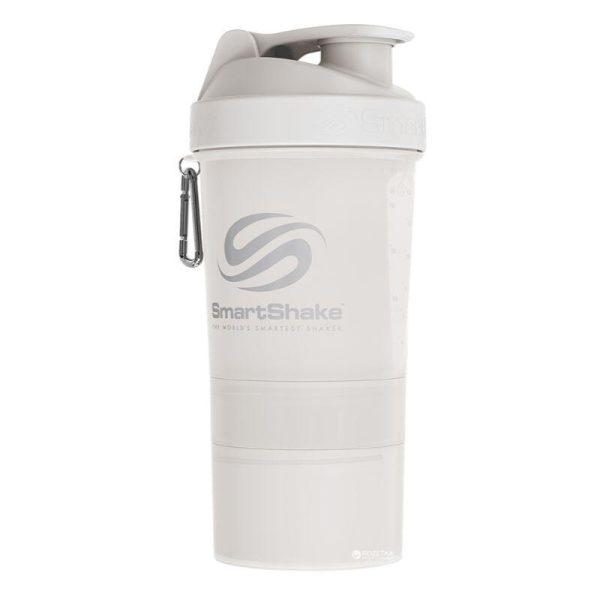 SmartShake Original, 600ml Pure White