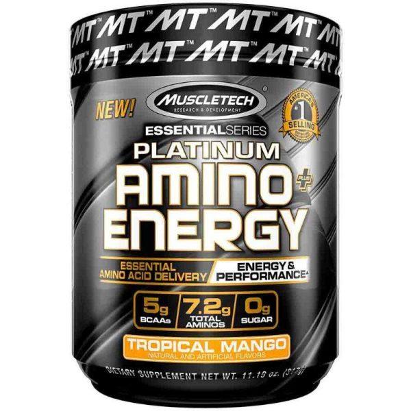 Platinum Amino Energy, 30 servings Tropical Mango