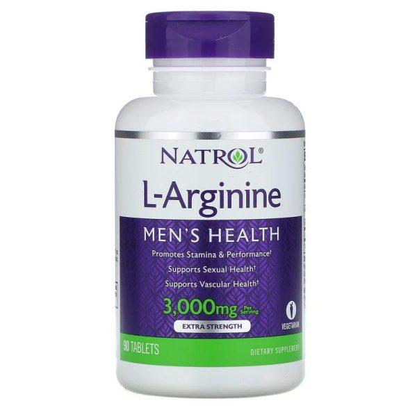 L-Arginine 3000mg (90 tabs)