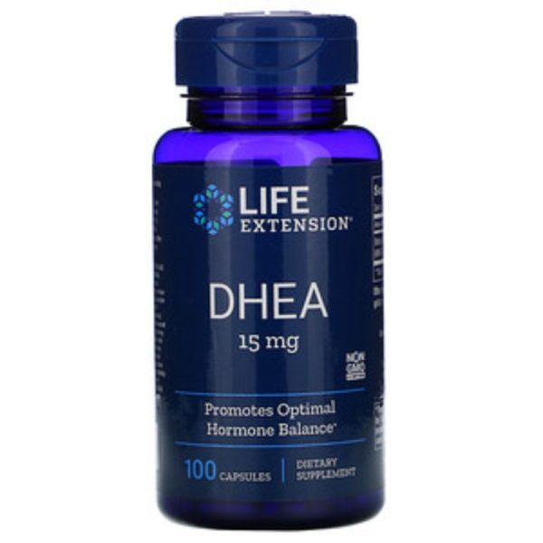 DHEA 15 mg (100 Caps)