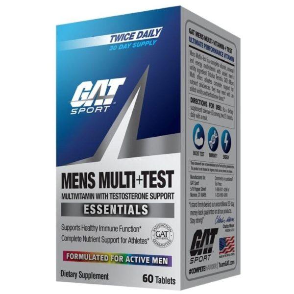 Mens Multi+Test, 60 tabs