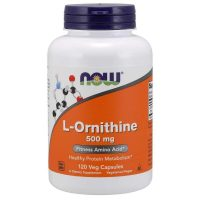 L-Ornithine 500mg, 120 Vcaps