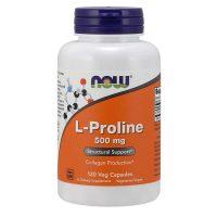 L-Proline 500mg, 120 Vcaps