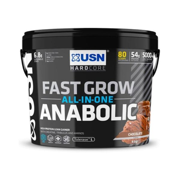 Muscle Fuel Anabolic, 4kg Chocolate