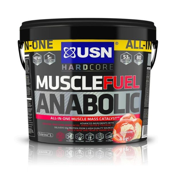 Muscle Fuel Anabolic, 4kg Strawberry
