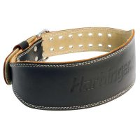4 Inch Padded Leather Belt