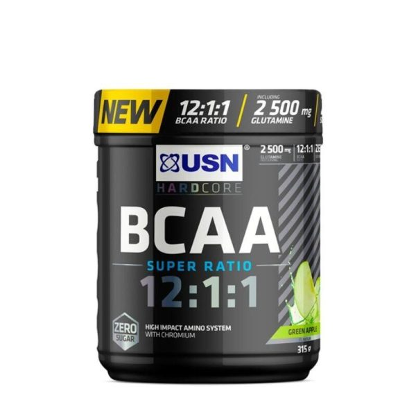 BCAA Super Ratio 12:1:1, 315 gram Apple