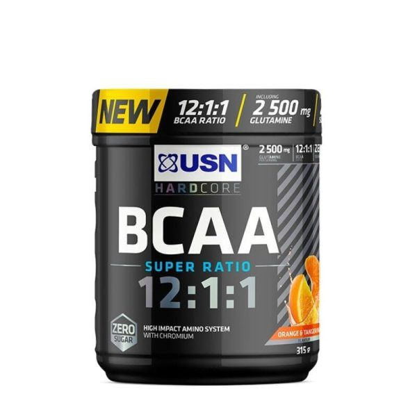 BCAA Super Ratio 12:1:1, 315 gram Orange Tangerine