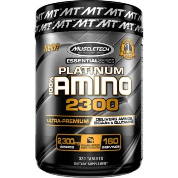 Platinum 100% Amino 2300, 320 Tabl