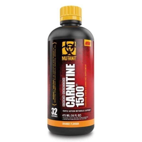 Liquid l-Carnitine 1500, 473 ml Orange