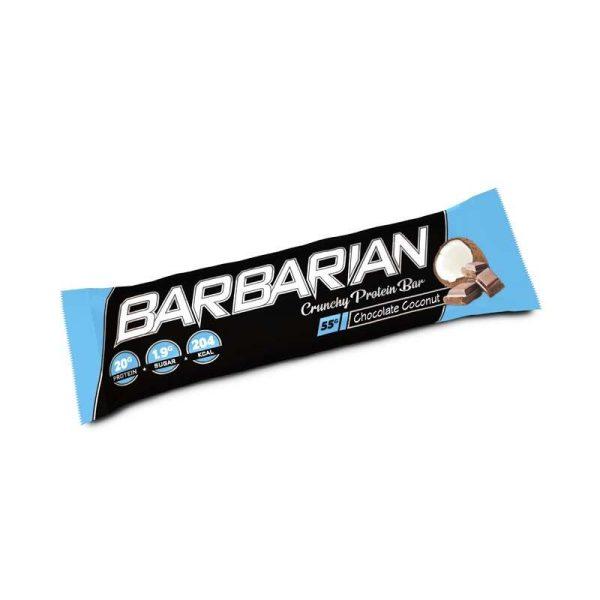 Barbarian Bar, 15 bars Barbarian Bar, 15 bars White Chocolate Coconut