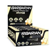 Barbarian Bar, 15 bars White Chocolate Peanut