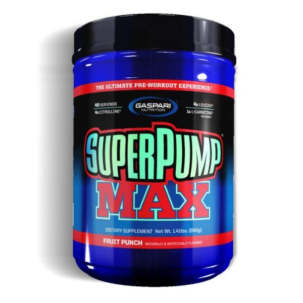 SuperPump Max, 40 Servings Fruit Punch