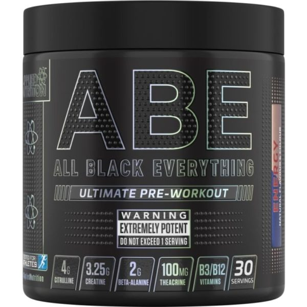 ABE (All Black Everything), 30 servings Energy Flavor