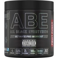 ABE (All Black Everything), 30 servings Fruit Punch